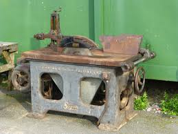 collecting vintage j sagar woodworking machinery