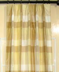 Yellow Faux Silk Curtains Drapes Curtains Window Treatments At Drape Palace