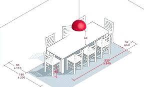 hauteur standard table de cuisine hauteur d une table a manger dimension table cuisine beau hauteur