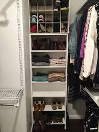 closet organizing megan most likely