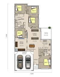 five room house plan house plans