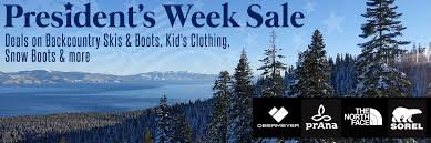 Winter Deals On S President S Week Deals And Demo S Tahoe Mountain Sports