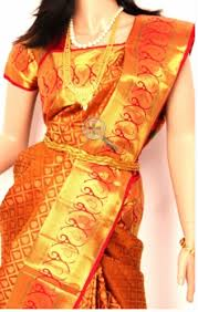 silk saree pink with purple colored pure silk saree trader from