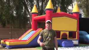 party rentals az az bounce 4 kids water slide event and party rentals