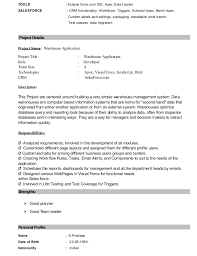 Sap Basis Administrator Resume Sample by Salesforce Developer Cover Letter