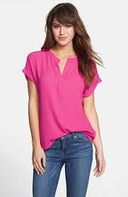 nordstrom blouses pleione split neck blouse regular available at