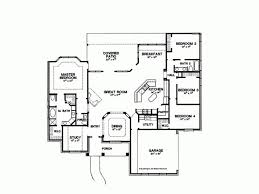 new american floor plans 2500 sq ft one level 4 bedroom house plans house plan four