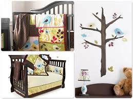 Sears Crib Bedding Sets Baby S Back To Nature 5 Crib Bedding Wall Decal Set