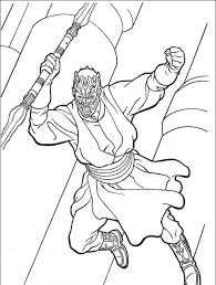 darth maul star wars coloring pages star wars coloring pages
