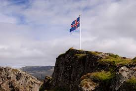 Flag Iceland The Flag Of Iceland Robert Kent Photography
