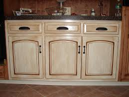 Antique Kitchen Furniture Painting Kitchen Cabinets White With Glaze Jpg And How To Antique