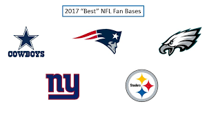 what nfl team has the most fans nationwide nfl fan base and brand rankings 2017 sports analytics research