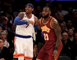Carmelo Anthony Bench Press Cleveland Cavaliers Surprisingly Carmelo Anthony Is Still Up For