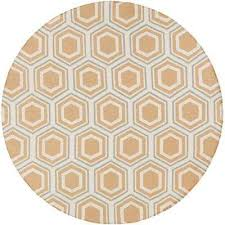 Jill Rosenwald Rugs Round 7 U0027 And Larger Yellow Area Rugs Rugs The Home Depot