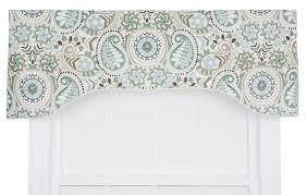 amazon com ellis curtain paisley prism jacobean floral print