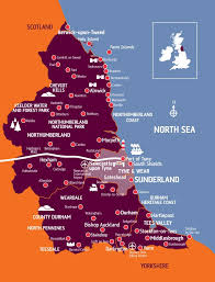 Newcastle England Map by The City U0026 Region Sunderland College A Levels Btec Higher