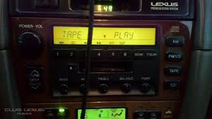 lexus es300 aux вместо штатного кассетника lexus es300 kex m8196zt