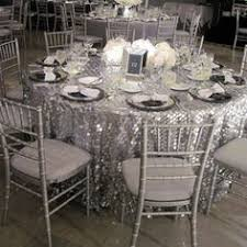 silver glitter tablecloth prodigious set of table and sequin cake