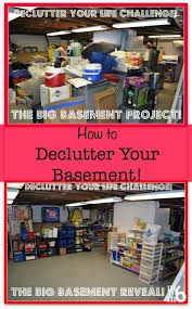 How To Clean A Cluttered House Fast Declutter Your Life The Big Basement Challenge And Reveal