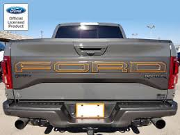 2018 ford raptor svt f 150 tailgate letter outlines vinyl stickers
