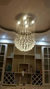 Ball Chandelier Lights Led Crystal Ball Chandelier Dining Room Globle Chandelier With