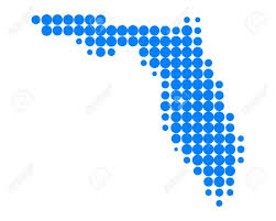 Map Of Flirida Map Of Florida Royalty Free Cliparts Vectors And Stock