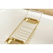 Clawfoot Bathtub Shelf Kingston Brass Polished Brass Clawfoot Tub Bath Tub Shelf Soap