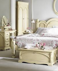 bedroom antique oak bed frame and bedroom vanity with mirror