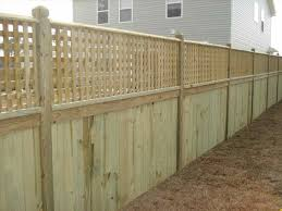 fencing decorative design is sure to look great on any patio and