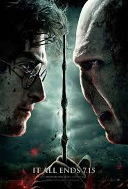 Harry Potter and the Deathly Hallows part 2 cover