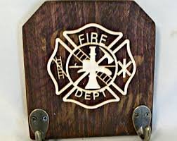 Firefighter Home Decorations Firefighting Etsy
