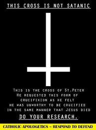 krus na baliktad sa satanismo 100 katoliko sagrado