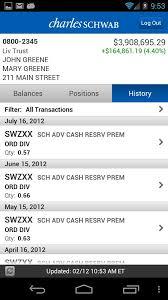 schwab advisor center mobile android apps on google play