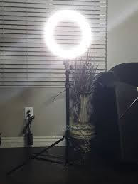 makeup artist light ring light 6 5 lightstand padded bright