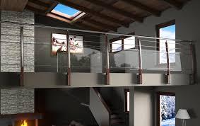 ringhiera soppalco balaustre per scale interne ringhiera in acciaio per interni