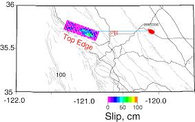 San Simeon Map 2003 San Simeon Earthquake Preliminary Earthquake Analysis