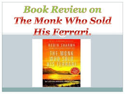 the monk who sold his review the monk who sold his ppt