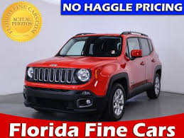 jeep renegade used used jeep renegade suv for sale in miami palm