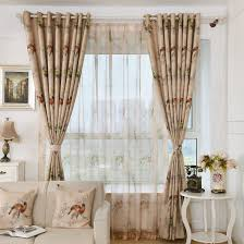 coffee bird insulated chic beautiful grommet curtains and drapes