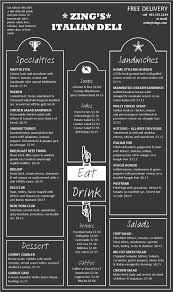 simple menu template free menu templates blue moon inspiration menu