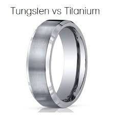 mens wedding bands titanium vs tungsten titanium vs tungsten wedding bands tbrb info