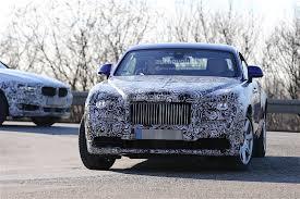 bentley wraith 2017 2017 rolls royce wraith facelift starts testing autoevolution