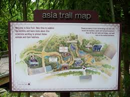 Smithsonian Map National Zoo Asia Trail Map Zoochat