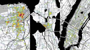 Trulia Crime Map San Francisco by Animated Heat Maps Reveal The Loudest Neighborhoods Co Design