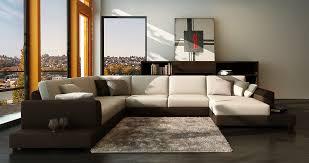 white microfiber sectional sofa modern white fabric sectional sofa