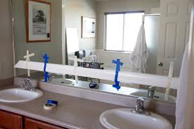 Flat Bathroom Mirrors Mirror Design Ideas Interior Room Flat Bathroom Mirror Frameless