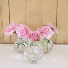 Clear Glass Vases With Lids Clear Glass Vase With Mirrored Stainless Steel Pierced Lid