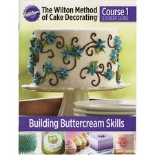 amazon com the wilton method of cake decorating course 1 student
