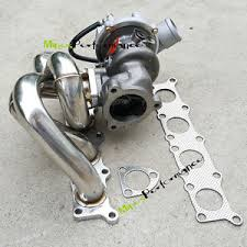 turbo audi a4 1 8 t upgraded exhaust manifold k04 015 turbo for vw passat audi a4