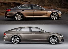 audi a6 2013 vs 2014 2014 audi a7 vs 2014 bmw 640i xdrive gran coupe test drive